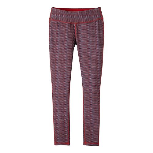 Womens prAna Maison Legging Pants - Red M
