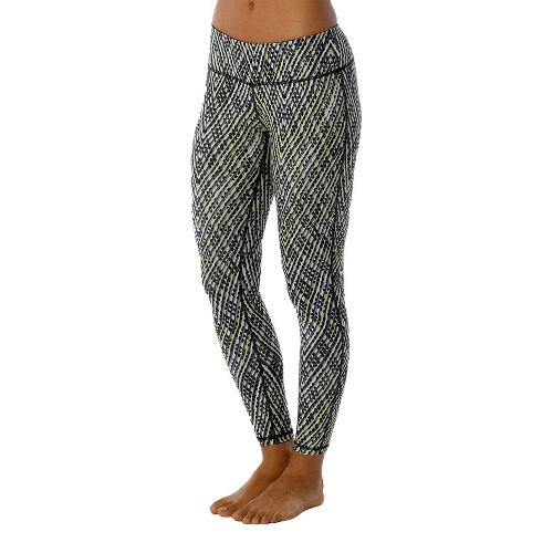 Womens Prana Maison Legging Full Length Pants - Black/Sierra XL