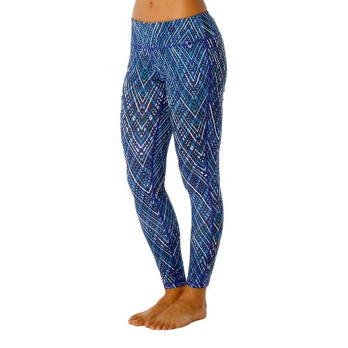 Womens Prana Maison Legging Full Length Pants - Dragonfly/Sierra L