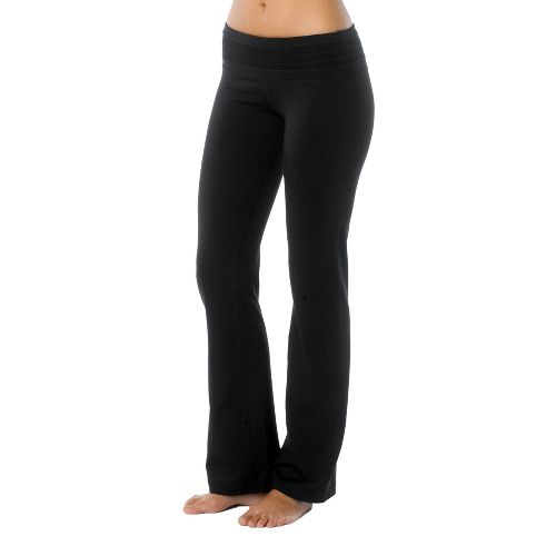 Womens Prana Olympia Full Length Pants - Black LT