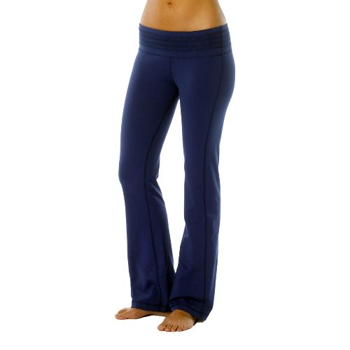 Womens Prana Olympia Full Length Pants - Blue Twilight XLT