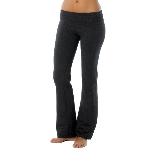 Womens Prana Olympia Full Length Pants - Charcoal Heather M