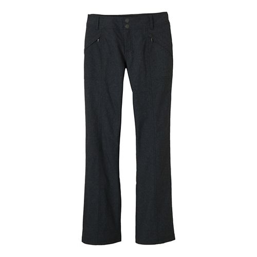 Womens Prana Shelly Full Length Pants - Black 4