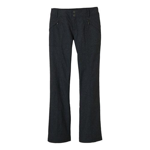 Womens Prana Shelly Full Length Pants - Black 6
