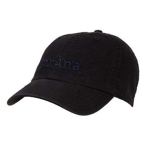 Mens Prana Signature II Cap Headwear - Black