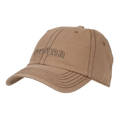 Mens Prana Signature II Cap Headwear - Olive