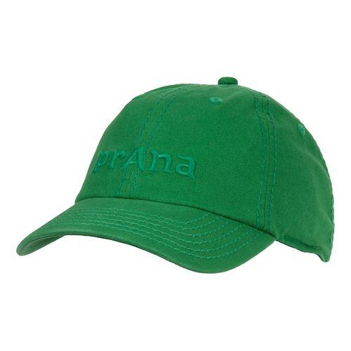 Mens Prana Signature II Cap Headwear - Danube Blue