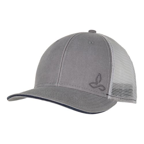 Mens Prana Karma Trucker Headwear - Grey