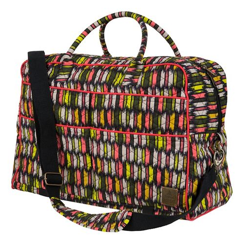 Prana Bhakti Weekender Bags - Black Zig Zag