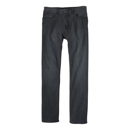 Mens Prana Theorem Jean Full Length Pants - Black 32T