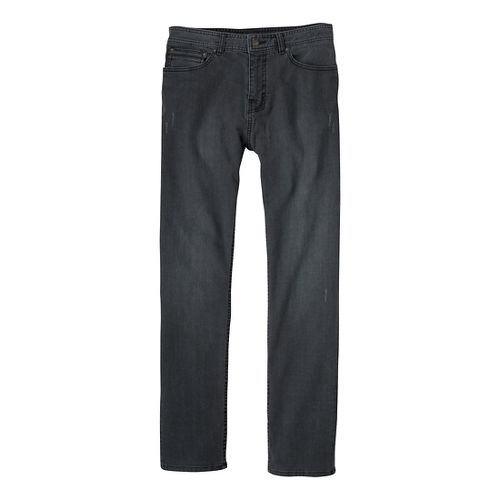 Mens Prana Theorem Jean Full Length Pants - Black 40S