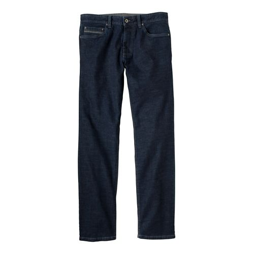 Mens Prana Theorem Jean Full Length Pants - Dark Indigo 32S