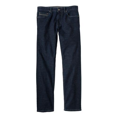 Mens Prana Theorem Jean Full Length Pants - Dark Indigo 33