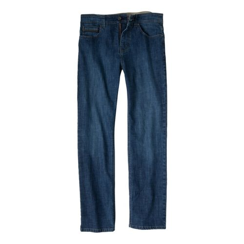 Mens Prana Theorem Jean Full Length Pants - Indigo 32
