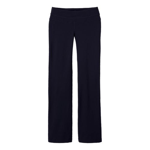 Womens Prana Audrey Full Length Pants - Black MT