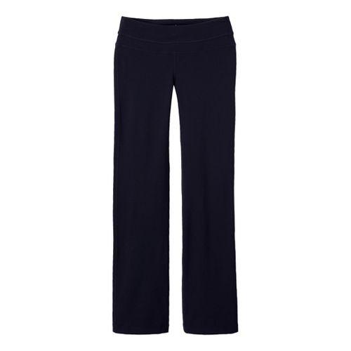 Womens Prana Audrey Full Length Pants - Black XS