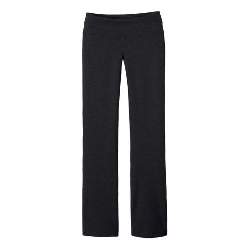 Womens Prana Audrey Full Length Pants - Charcoal Heather S