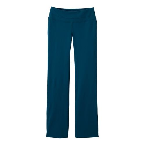 Womens Prana Audrey Full Length Pants - Dark Blue L