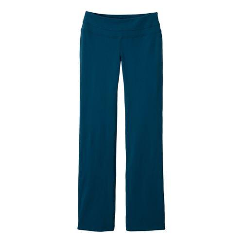 Womens Prana Audrey Full Length Pants - Dark Blue M