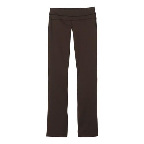 Womens Prana Audrey Full Length Pants - Espresso M