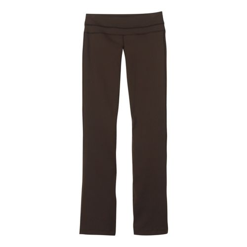Womens Prana Audrey Full Length Pants - Espresso XLT