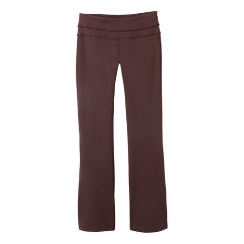 Womens Prana Audrey Full Length Pants - Espresso L