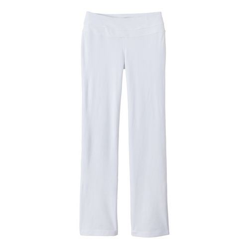 Womens Prana Audrey Full Length Pants - White L