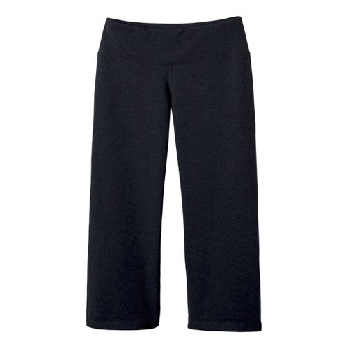 Womens Prana Vivi Capri Pants - Charcoal Heather L