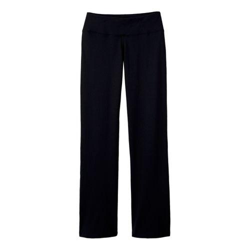 Womens Prana Vivi Full Length Pants - Black LT