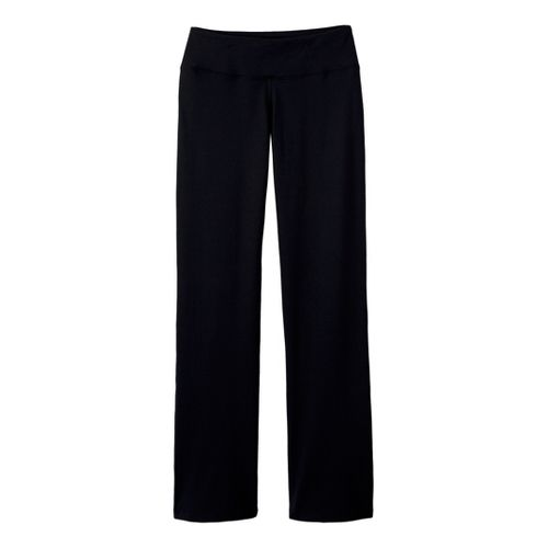 Womens Prana Vivi Full Length Pants - Black MS