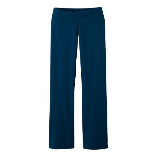 Womens Prana Vivi Full Length Pants - Deep Blue M