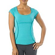 Womens Prana Katarina Short Sleeve Technical Tops