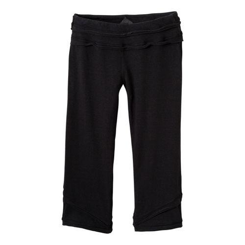 Womens Prana Cecilia Knicker Capri Pants - Black M