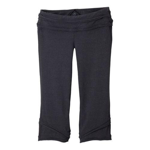 Womens Prana Cecilia Knicker Capri Pants - Coal XL