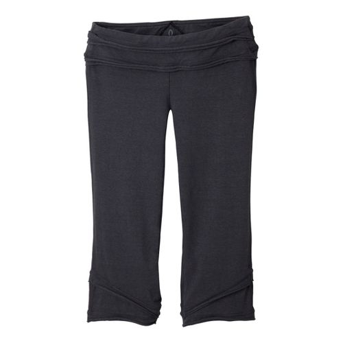 Womens Prana Cecilia Knicker Capri Pants - Coal XS