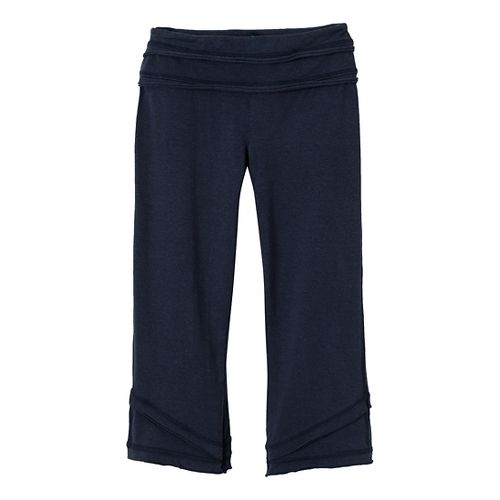 Womens Prana Cecilia Knicker Capri Pants - Dress Blue L