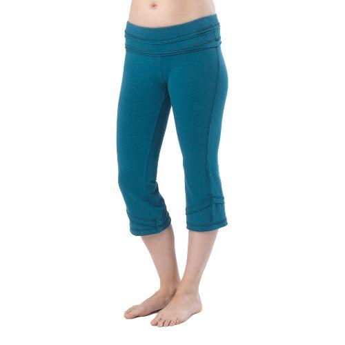Womens Prana Cecilia Knicker Capri Pants - Ink Blue XL
