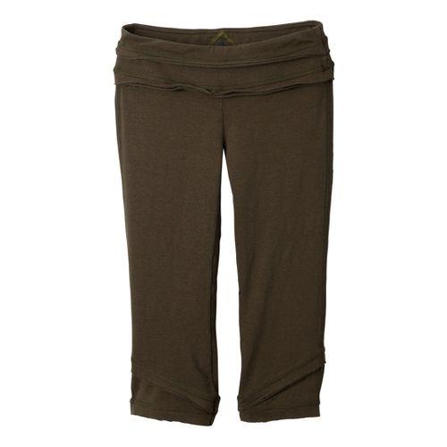 Womens Prana Cecilia Knicker Capri Pants - Ivy XL