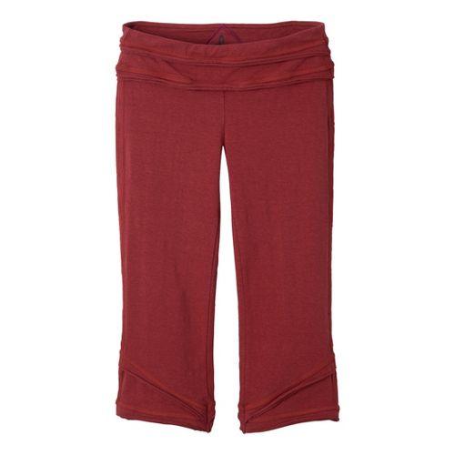 Womens Prana Cecilia Knicker Capri Pants - Tomato XL
