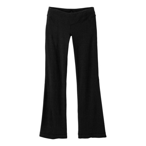 Womens Prana Linea Full Length Pants - Black XS