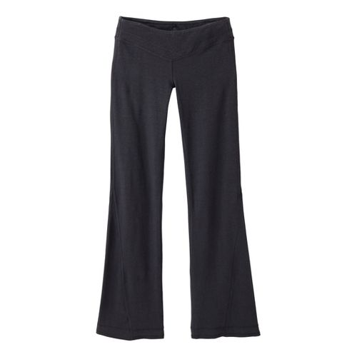 Womens Prana Linea Full Length Pants - Coal M