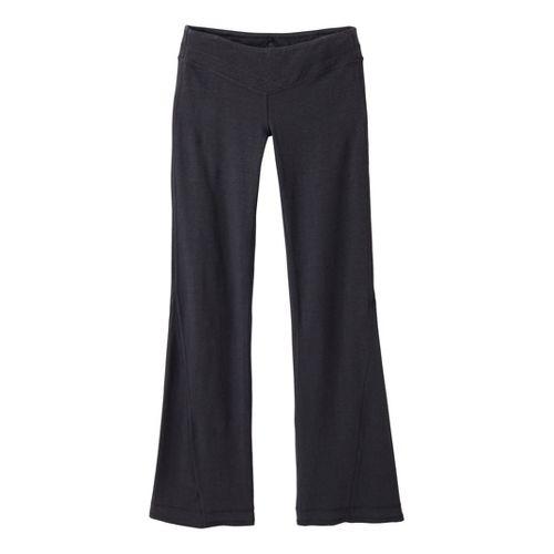 Womens Prana Linea Full Length Pants - Coal S