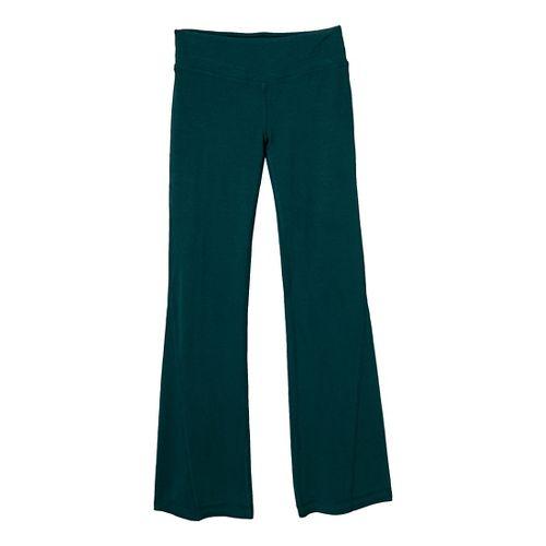 Womens Prana Linea Full Length Pants - Deep Teal L