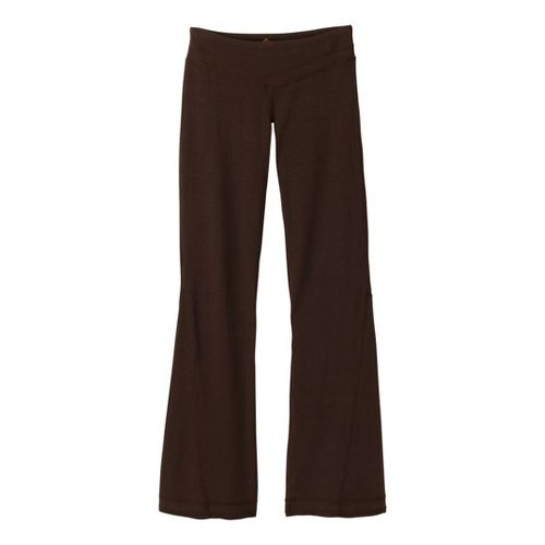Womens Prana Linea Full Length Pants - Espresso L