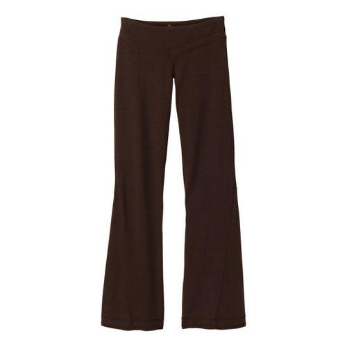 Womens Prana Linea Full Length Pants - Espresso XL