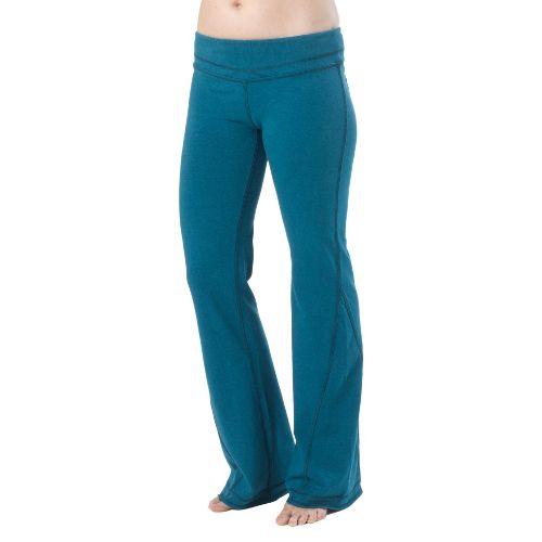Womens Prana Linea Full Length Pants - Ink Blue XS