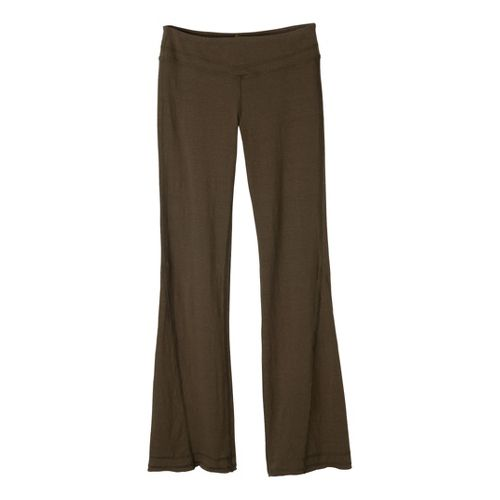 Womens Prana Linea Full Length Pants - Ivy L