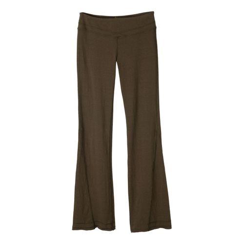Womens Prana Linea Full Length Pants - Ivy XL