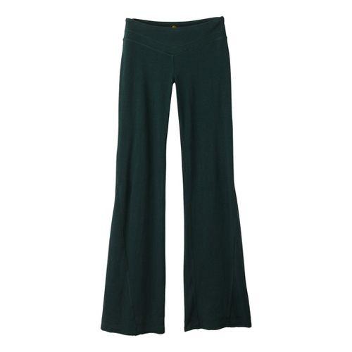 Womens Prana Linea Full Length Pants - Pine XS