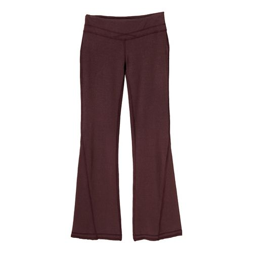 Womens Prana Linea Full Length Pants - Rich Cocoa S